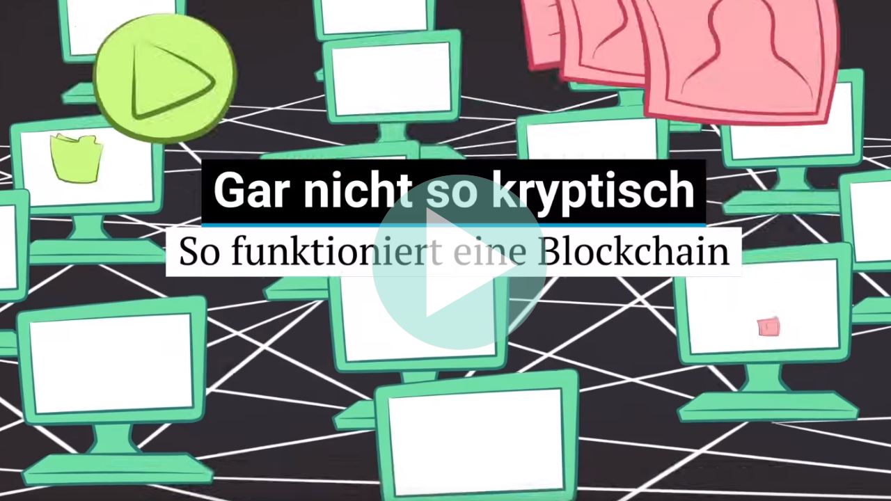 Video zum Blockchain Video von NZZ